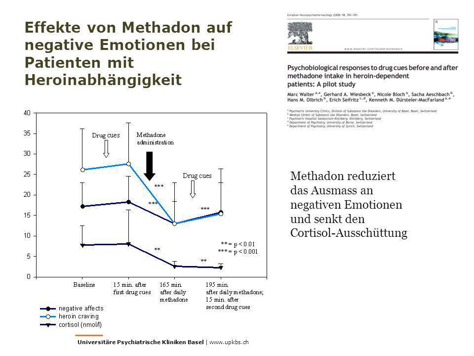 Universitäre Psychiatrische Kliniken Basel | www.upkbs.ch