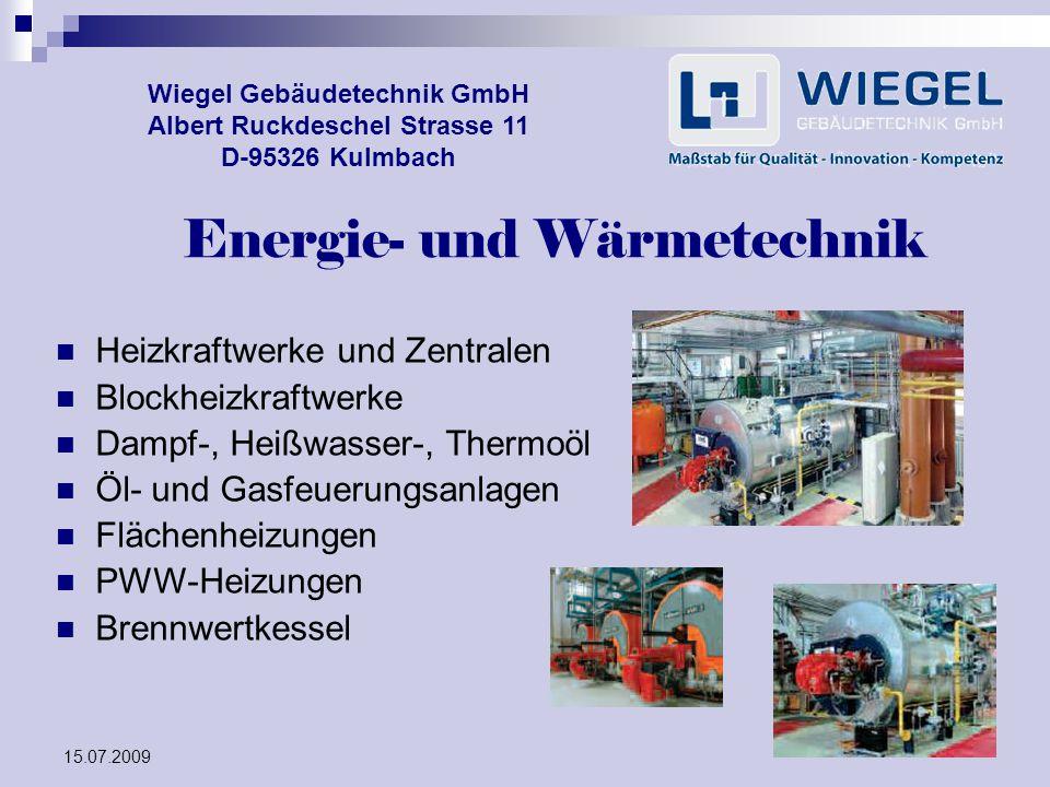 Energie- und Wärmetechnik
