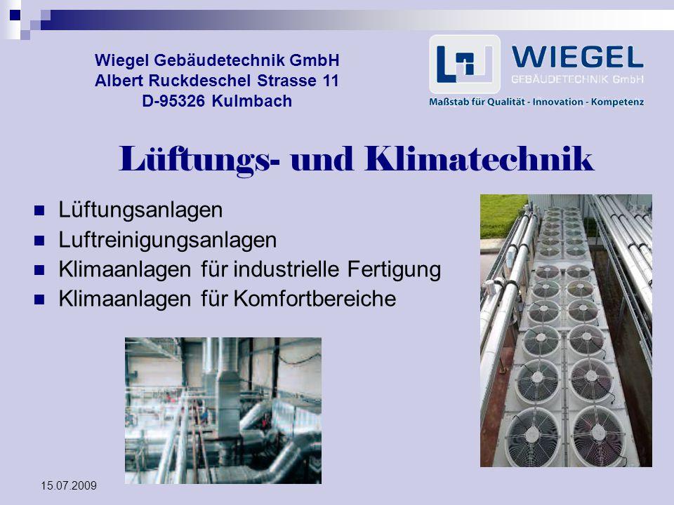 Lüftungs- und Klimatechnik