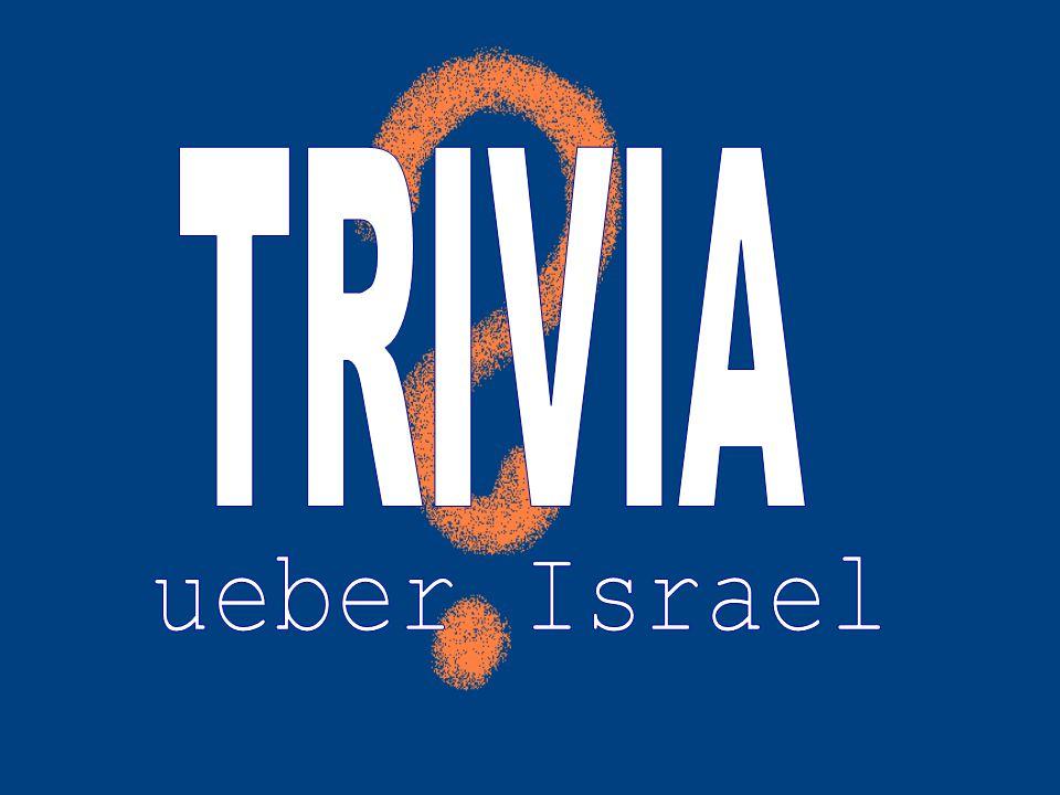 TRIVIA ueber Israel
