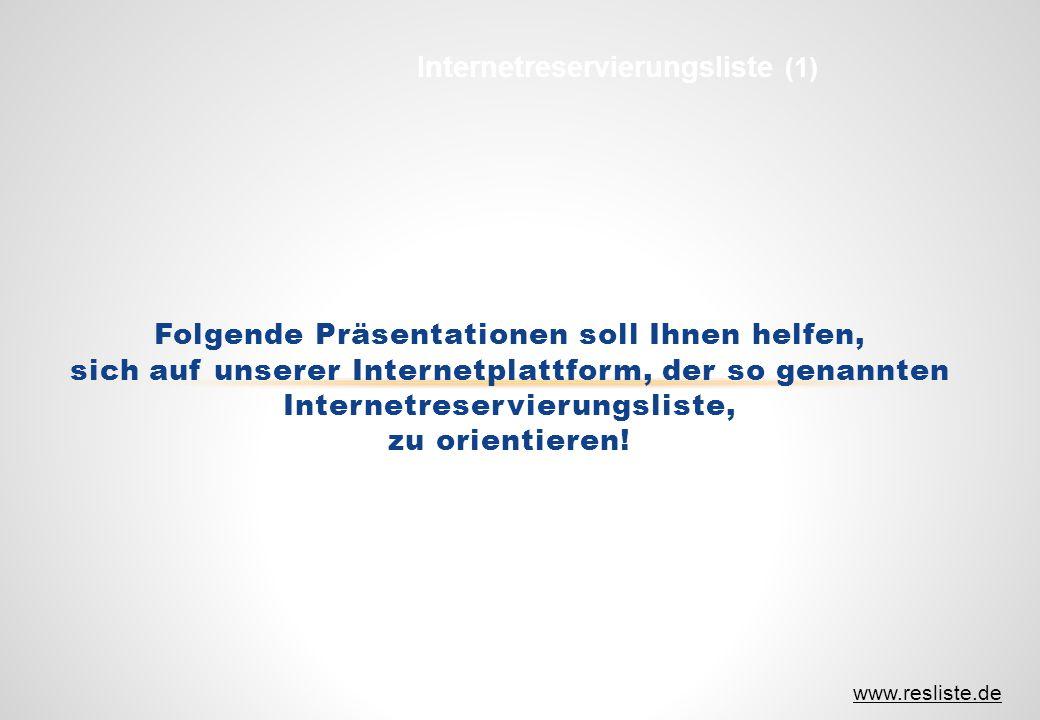 Internetreservierungsliste (1)