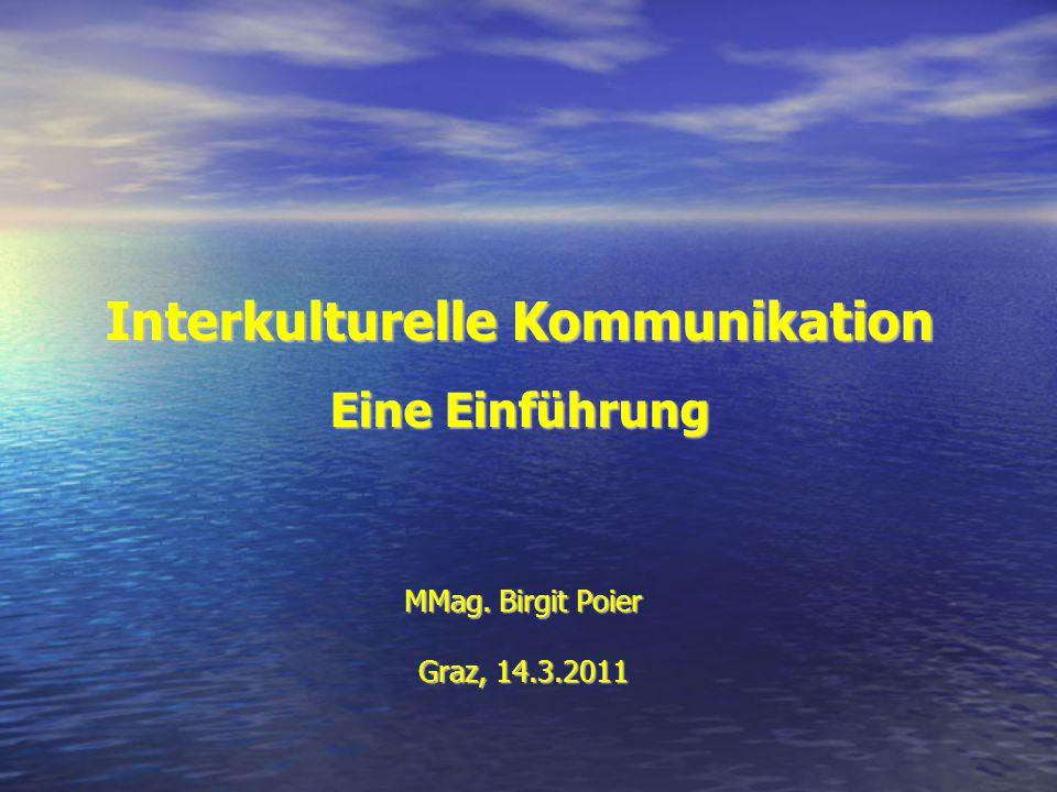 Interkulturelle Kommunikation Eine Einführung