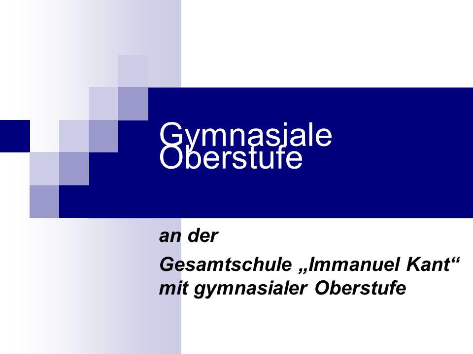 "an der Gesamtschule ""Immanuel Kant mit gymnasialer Oberstufe"