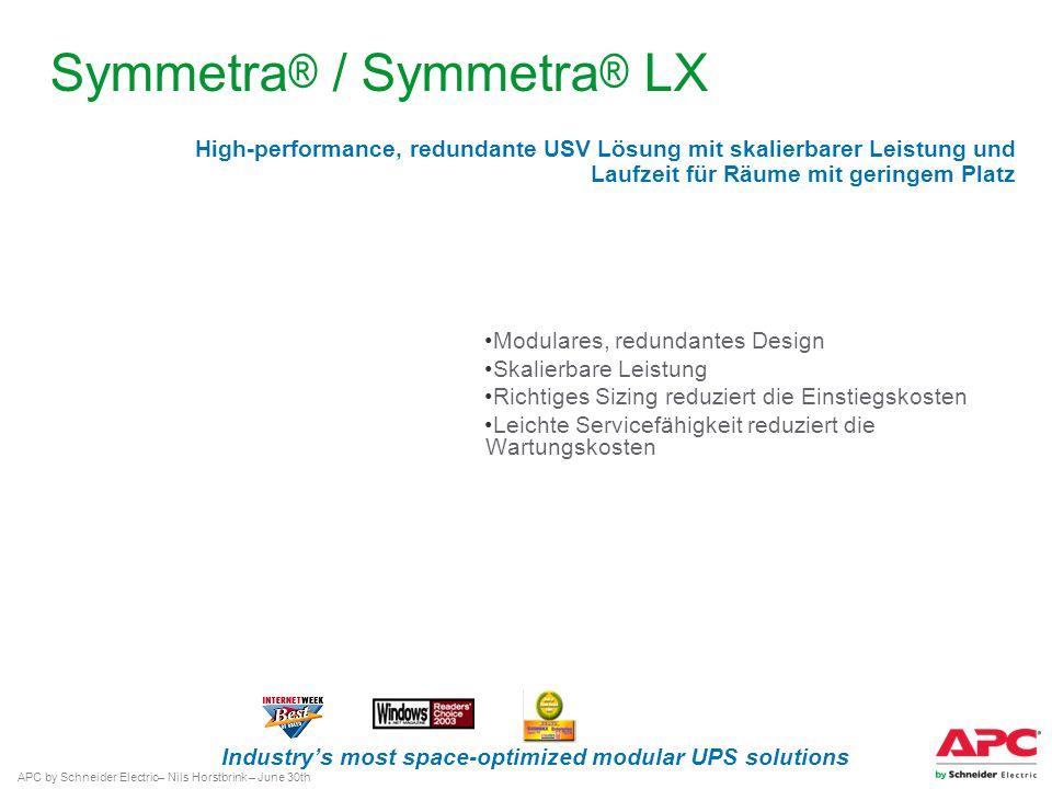 Symmetra® / Symmetra® LX