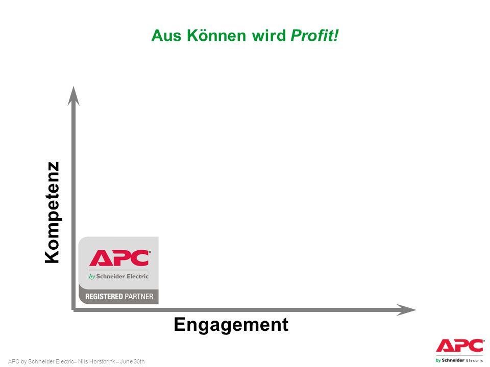 Kompetenz Engagement Aus Können wird Profit!