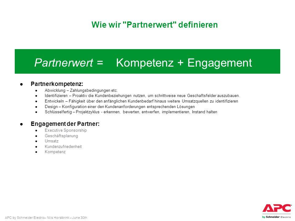Wie wir Partnerwert definieren