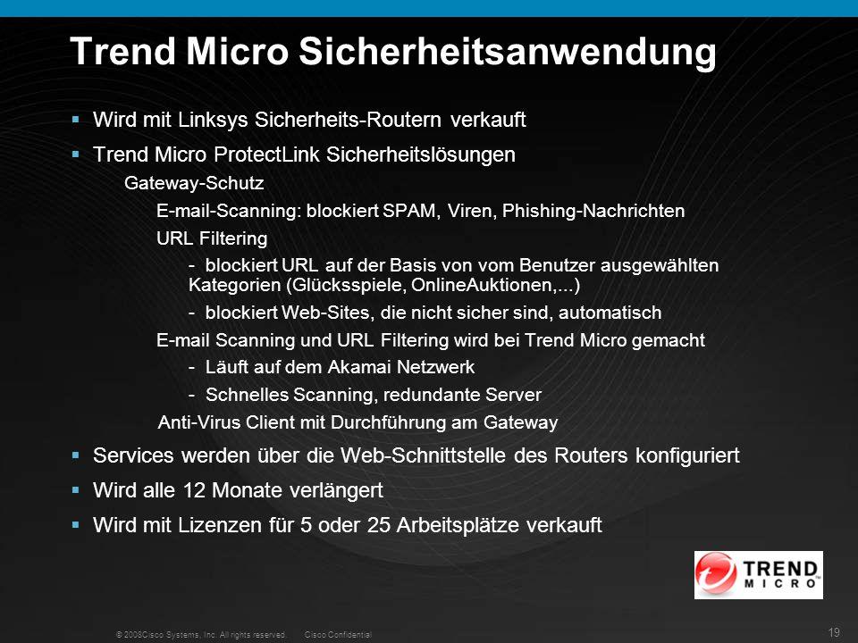 Trend Micro Sicherheitsanwendung