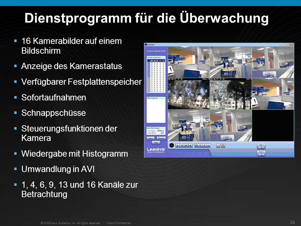 Dienstprogramm für die Überwachung