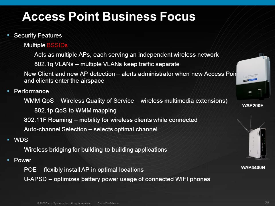 Access Point Business Focus