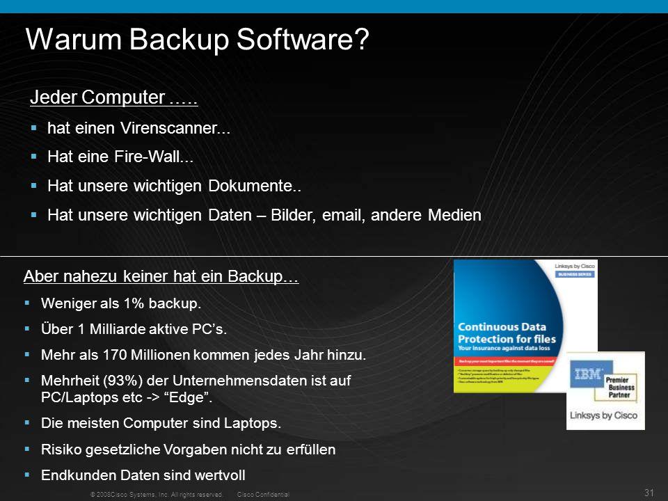 Warum Backup Software Jeder Computer ….. hat einen Virenscanner...