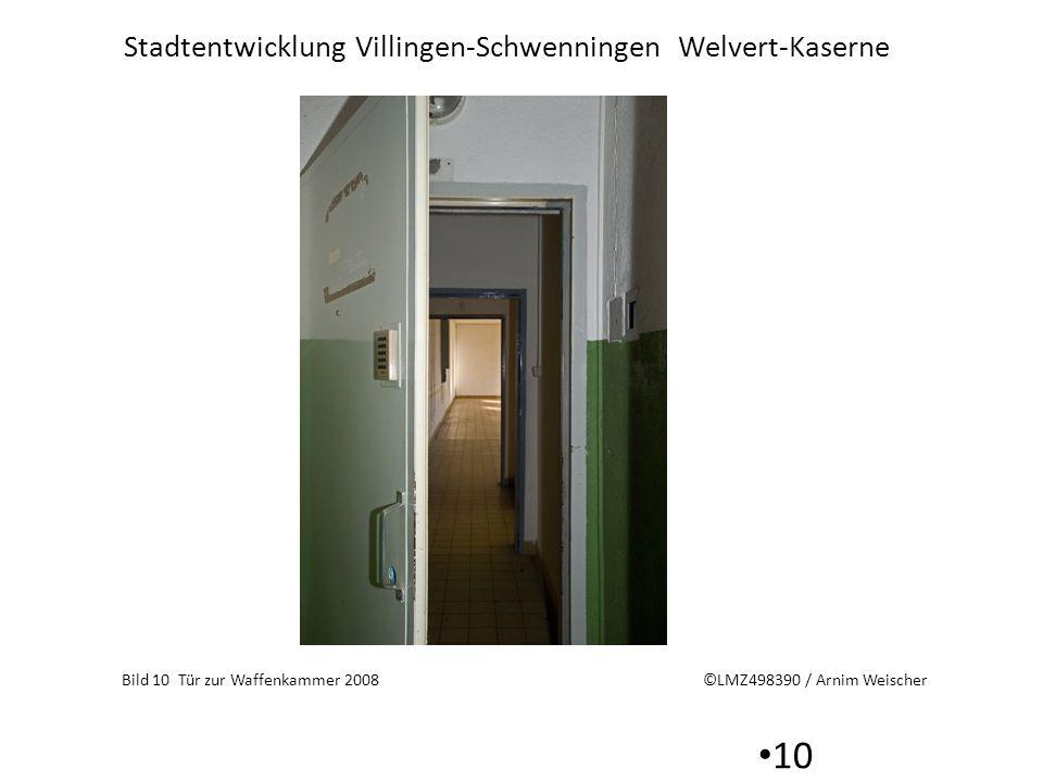 Bild 10 Tür zur Waffenkammer 2008 ©LMZ498390 / Arnim Weischer
