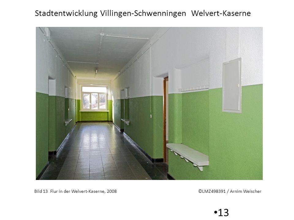 Bild 13 Flur in der Welvert-Kaserne, 2008 ©LMZ498391 / Arnim Weischer