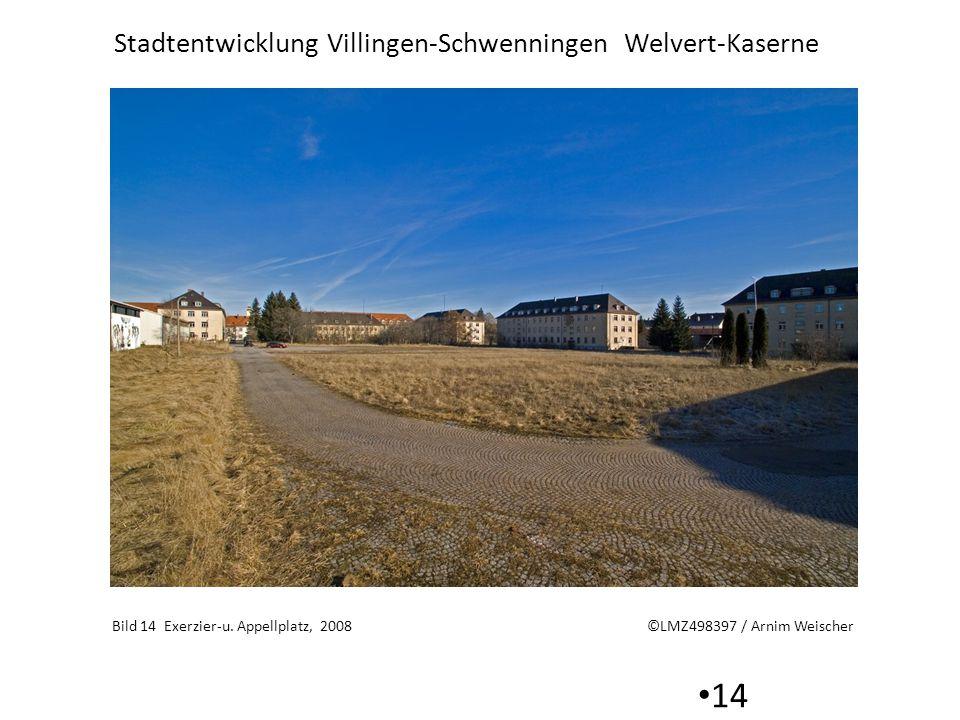 Bild 14 Exerzier-u. Appellplatz, 2008 ©LMZ498397 / Arnim Weischer