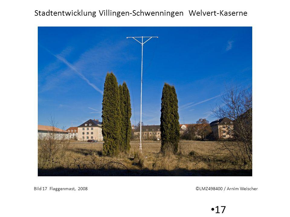 Bild 17 Flaggenmast, 2008 ©LMZ498400 / Arnim Weischer