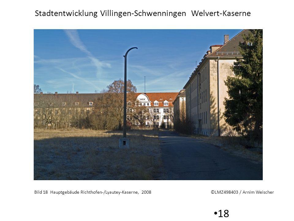 Bild 18 Hauptgebäude Richthofen-/Lyautey-Kaserne, 2008