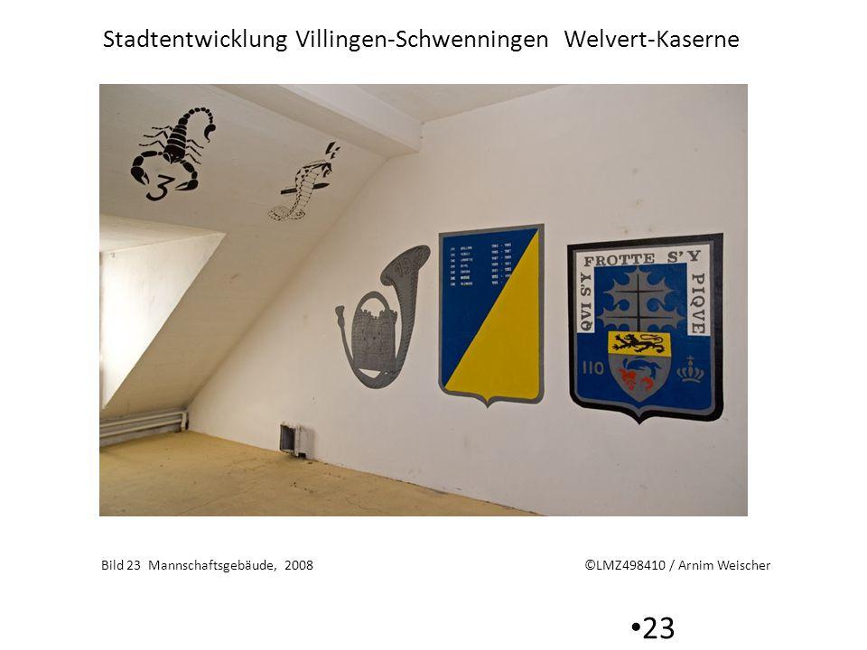 Bild 23 Mannschaftsgebäude, 2008 ©LMZ498410 / Arnim Weischer