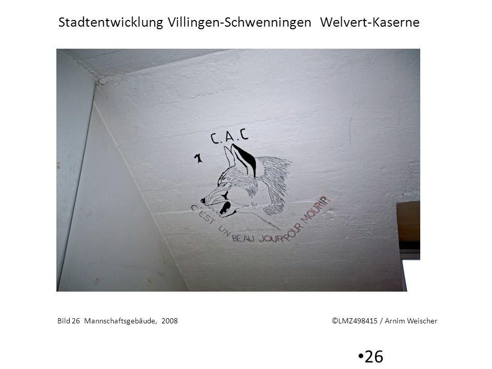 Bild 26 Mannschaftsgebäude, 2008 ©LMZ498415 / Arnim Weischer