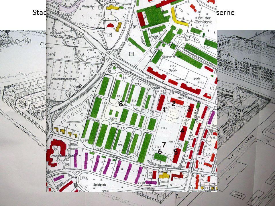 Ab 1945: Caserne Welvert Welvert-Kaserne