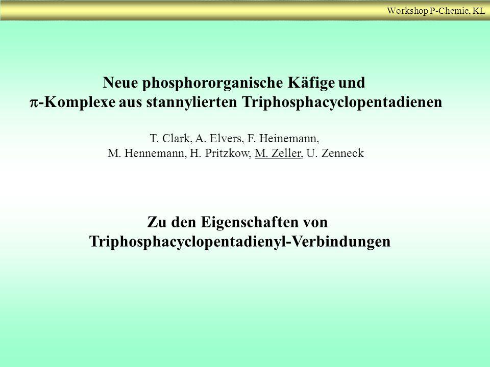 Neue phosphororganische Käfige und