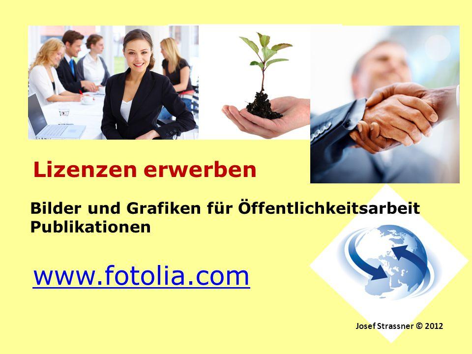 www.fotolia.com Lizenzen erwerben