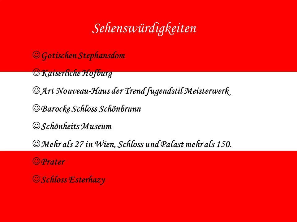 Sehenswürdigkeiten Gotischen Stephansdom Kaiserliche Hofburg