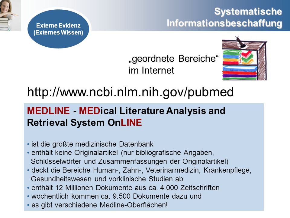 "http://www.ncbi.nlm.nih.gov/pubmed ""geordnete Bereiche im Internet"