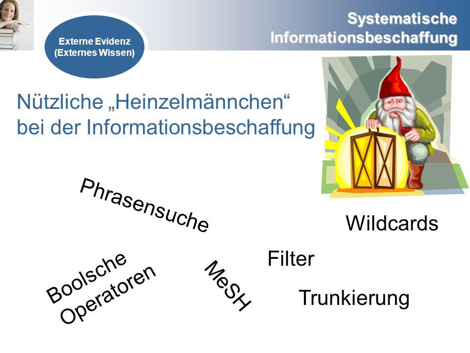 "Nützliche ""Heinzelmännchen bei der Informationsbeschaffung"