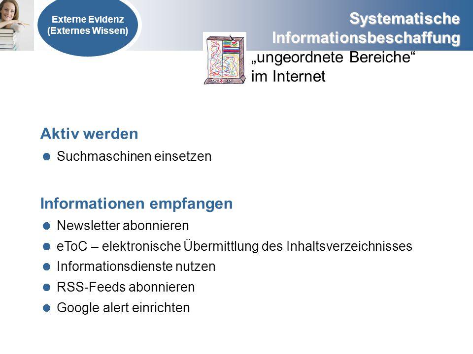 """""""ungeordnete Bereiche im Internet"""