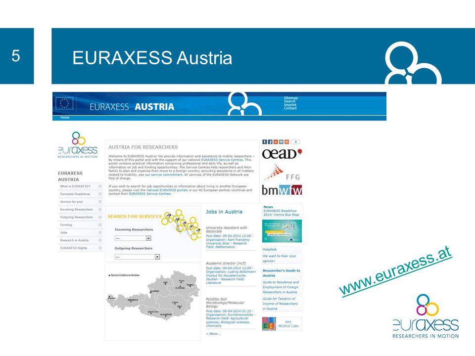 5 EURAXESS Austria www.euraxess.at