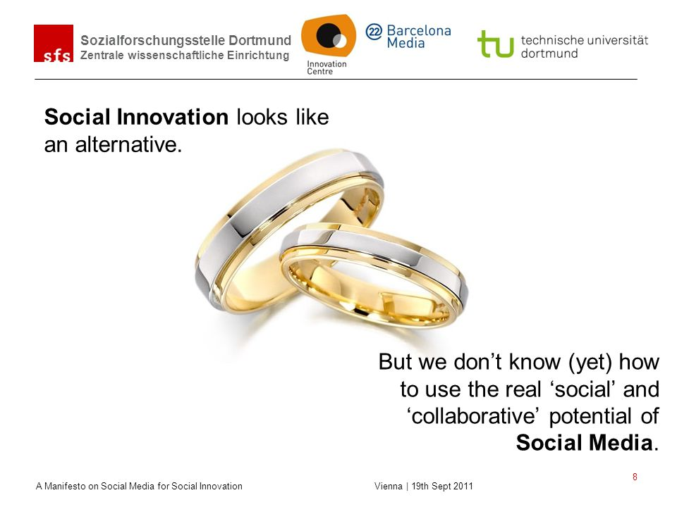 Social Innovation looks like an alternative.