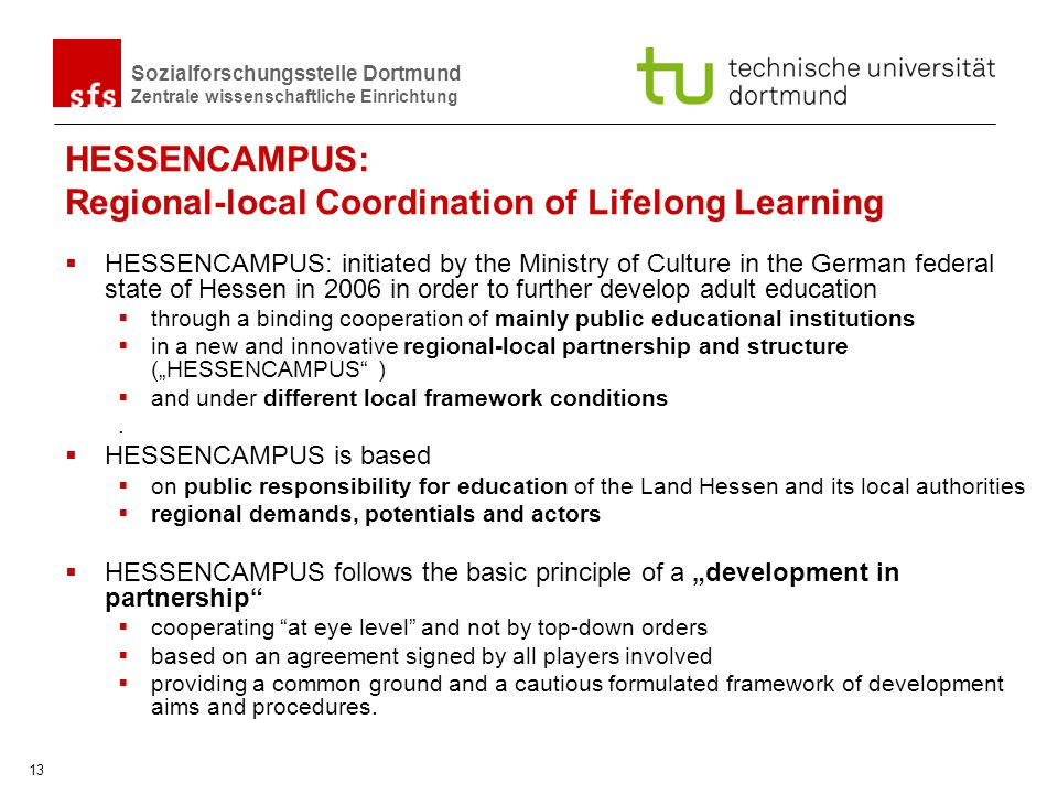 HESSENCAMPUS: Regional-local Coordination of Lifelong Learning
