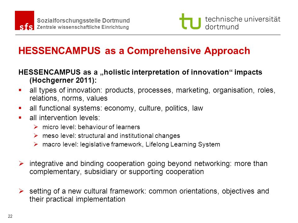 HESSENCAMPUS as a Comprehensive Approach