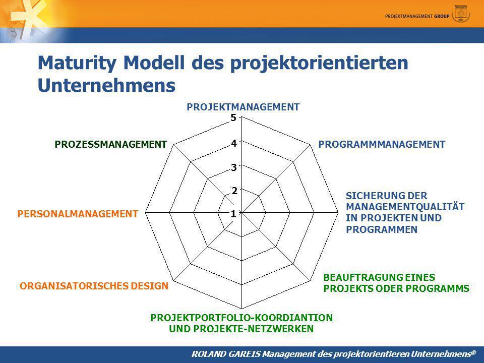 Maturity Modell des projektorientierten Unternehmens