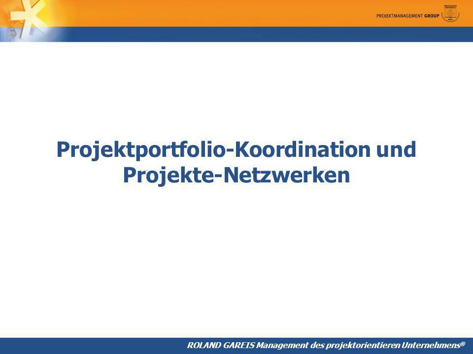 Projektportfolio-Koordination und Projekte-Netzwerken