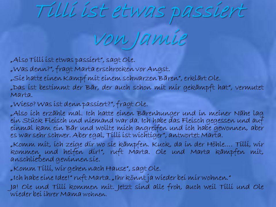 Tilli ist etwas passiert von Jamie