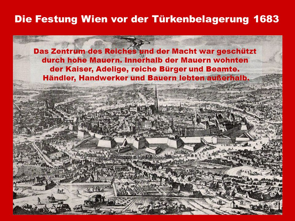 Die Festung Wien vor der Türkenbelagerung 1683
