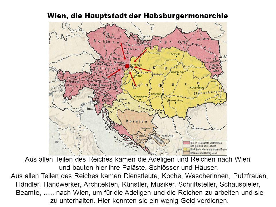 Wien, die Hauptstadt der Habsburgermonarchie
