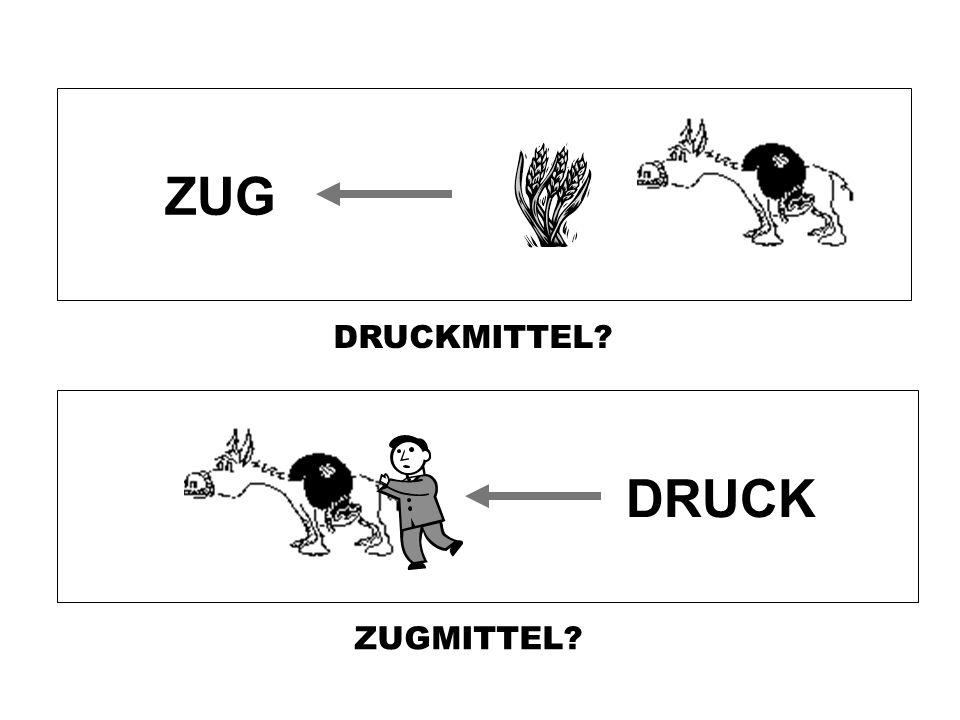 ZUG DRUCKMITTEL DRUCK ZUGMITTEL