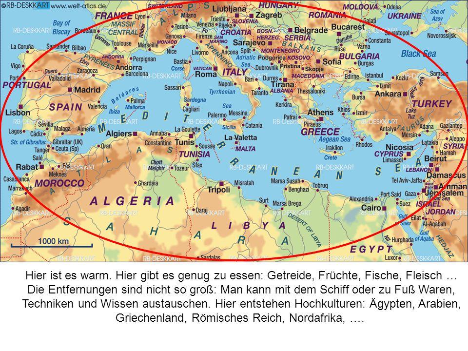 Griechenland, Römisches Reich, Nordafrika, ….