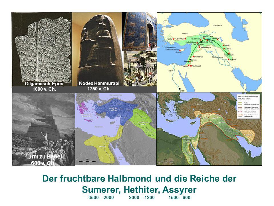 Der fruchtbare Halbmond und die Reiche der Sumerer, Hethiter, Assyrer