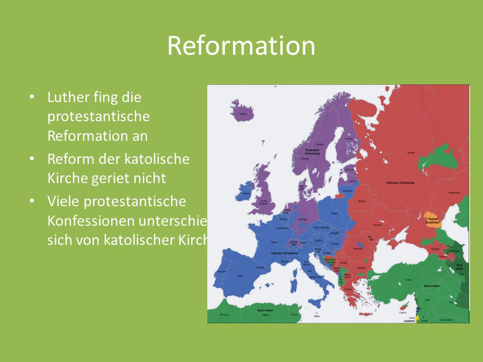 Reformation Luther fing die protestantische Reformation an
