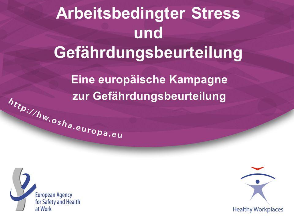 Arbeitsbedingter Stress und Gefährdungsbeurteilung