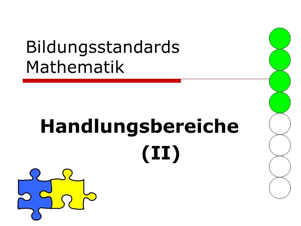 Bildungsstandards Mathematik