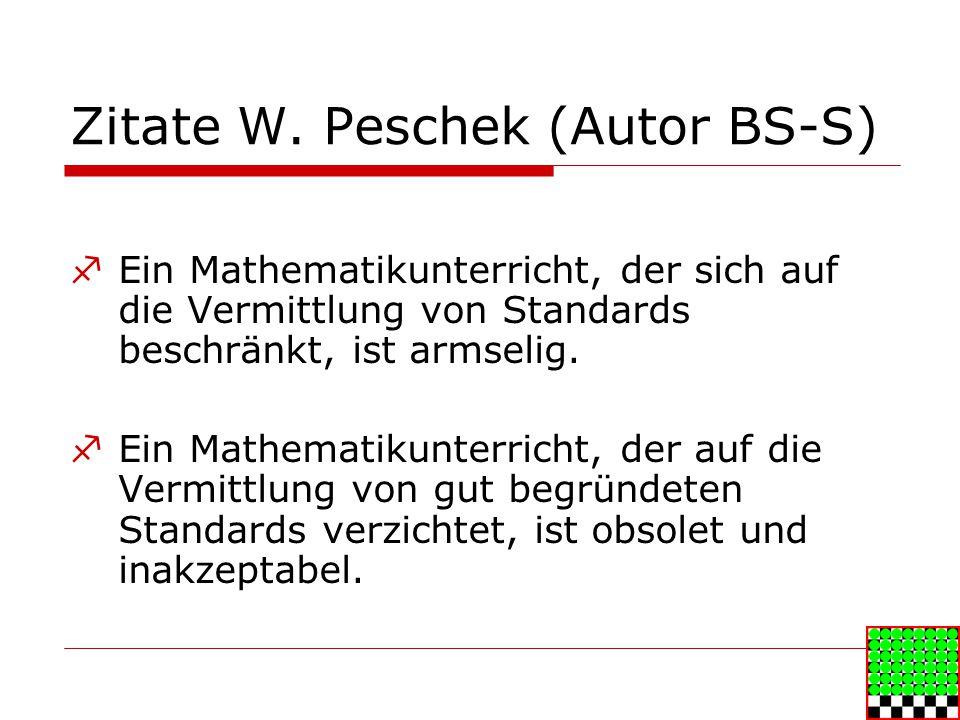 Zitate W. Peschek (Autor BS-S)
