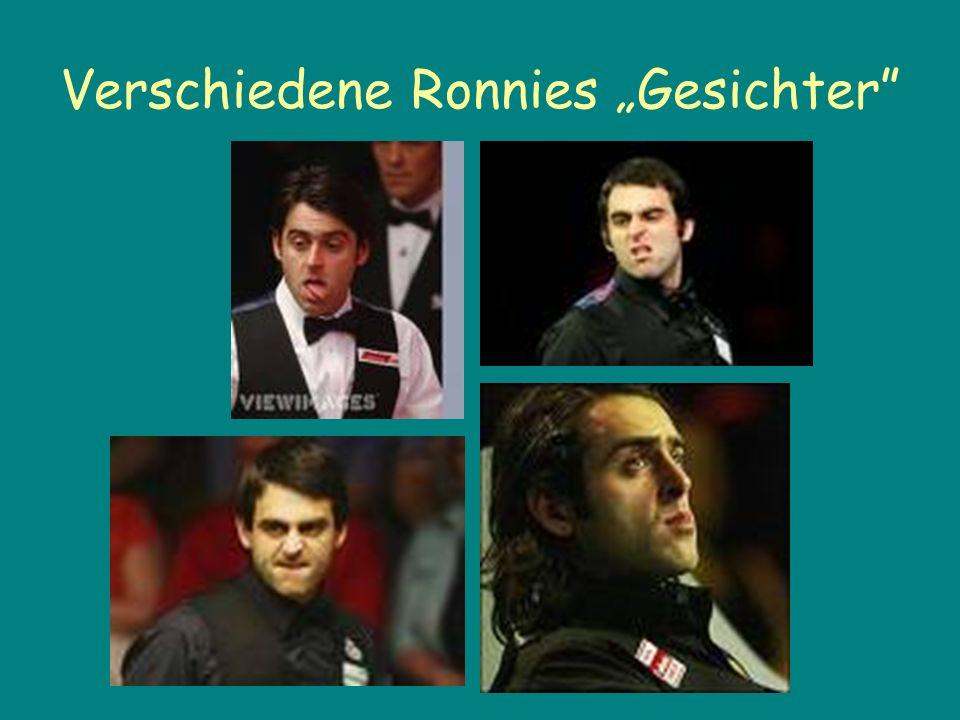 """Verschiedene Ronnies """"Gesichter"""