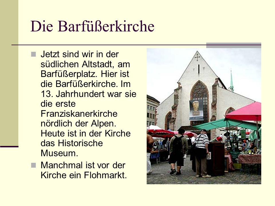 Die Barfüßerkirche