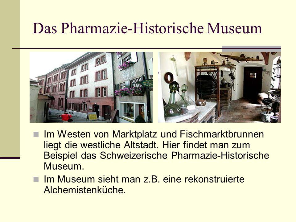 Das Pharmazie-Historische Museum