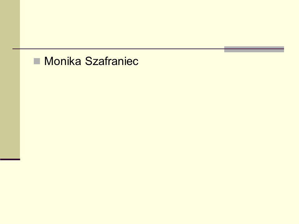 Monika Szafraniec