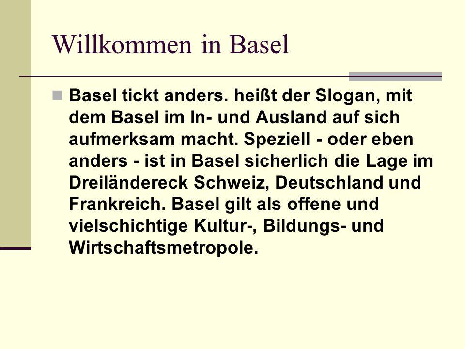 Willkommen in Basel