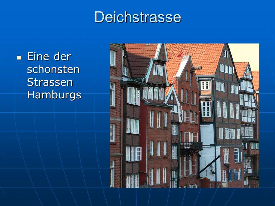 Deichstrasse Eine der schonsten Strassen Hamburgs
